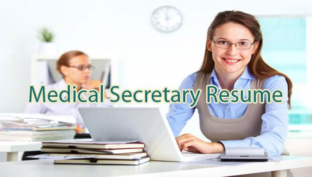 Medical-secretary-resume-sample