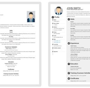 Resume Template Download Here