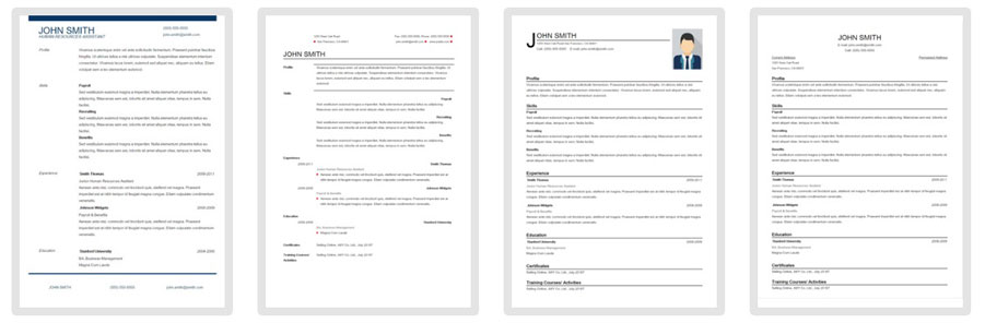 resume-template-download